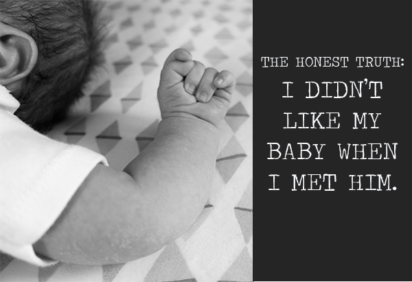 I Didn't Like My Baby When I Met Him | Twin Cities Moms Blog
