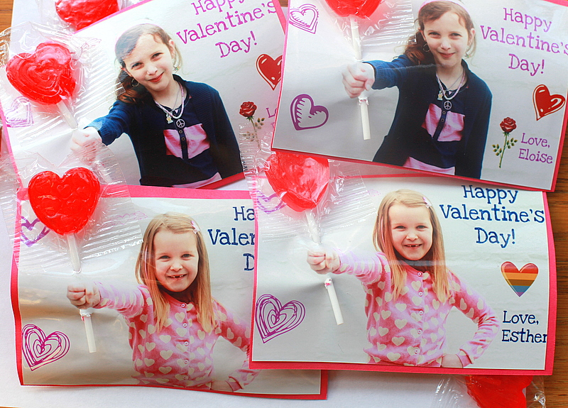 Photo Valentine Cards For Kids