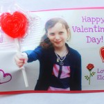 Easy Personalized Photo Valentine's Day Cards