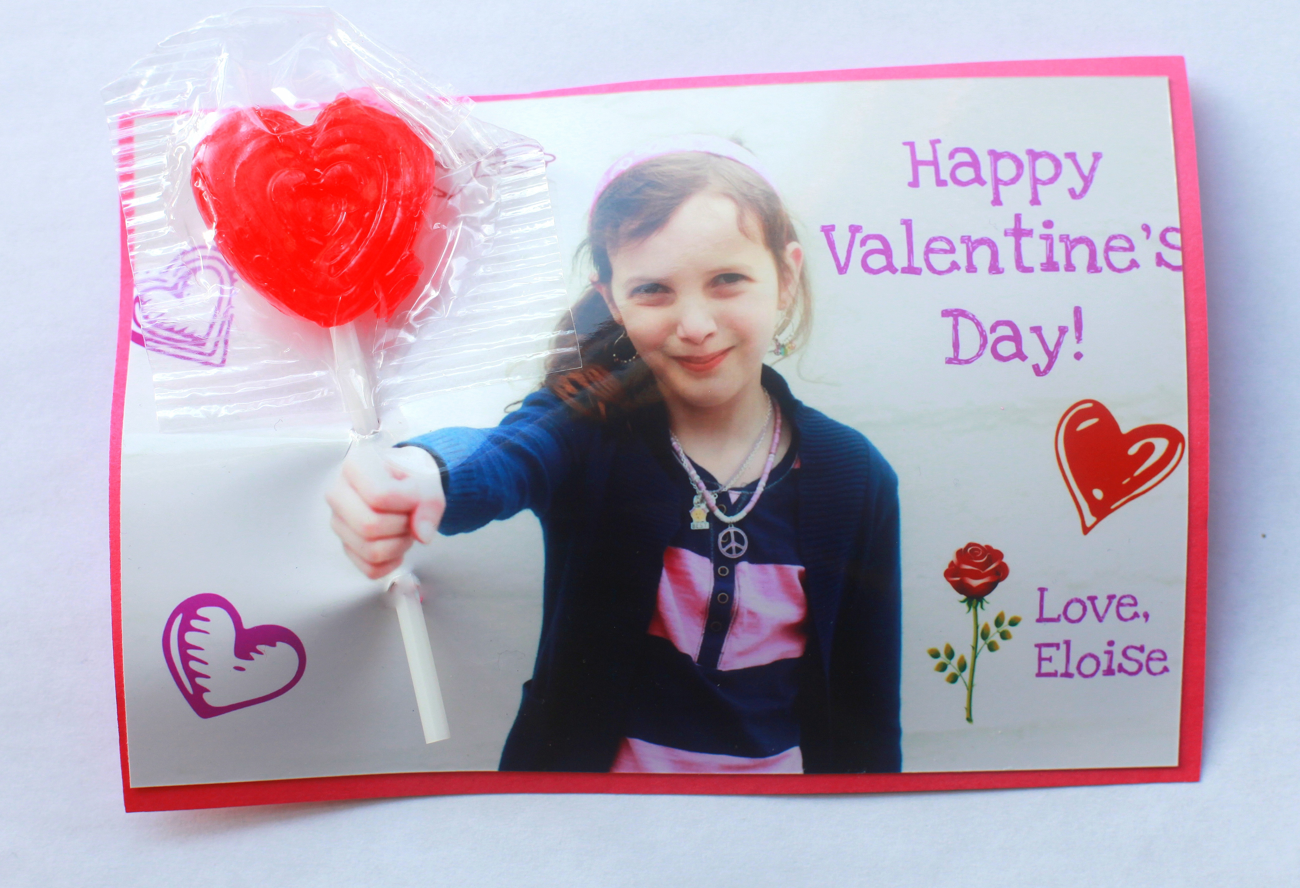 Easy Personalized Photo Valentines Day Cards – Valentines Cards Personalized