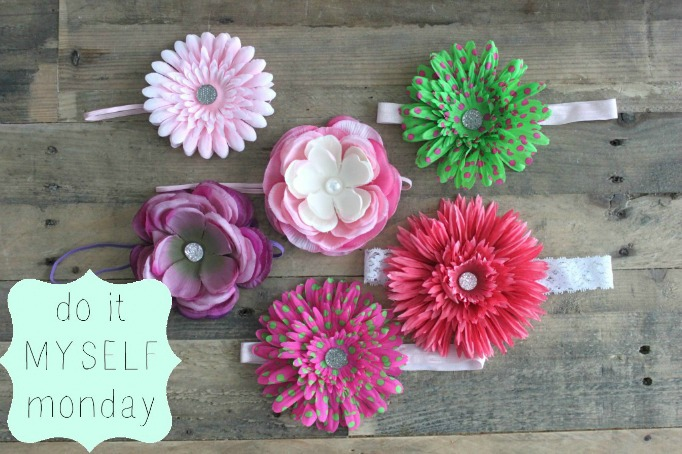 DIY Silk Flower Headbands