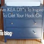 Twelve IKEA DIY's To Inspire You To Get Your Hack On