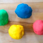 Simple Homemade Play Dough