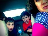 A Panera drive-thru selfie!