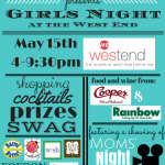 Twin Cities Moms Blog presents Girls Night at The Shops at West End