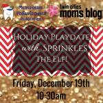 Event Announcement:  A Holiday Playdate!
