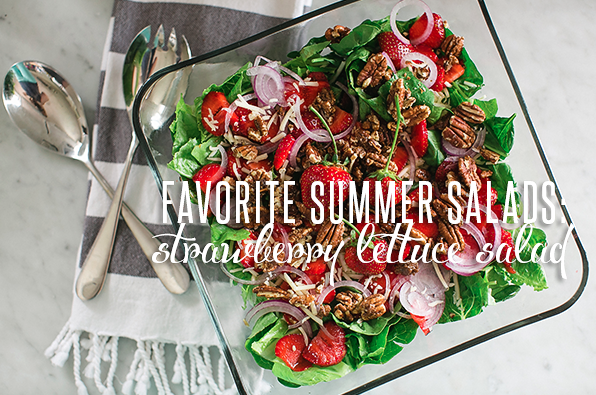 Favorite Summer Salads: Strawberry Lettuce Salad | Twin Cities Moms Blog