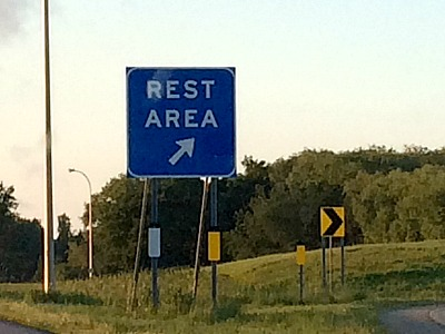 Rest Stops Don't Normally Equal Rest | Twin Cities Moms Blog