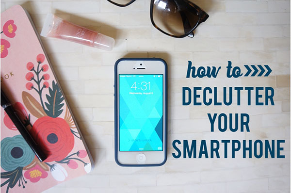 Five Tips for Decluttering Your Smart Phone's Virtual Mess | Twin Cities Moms Blog