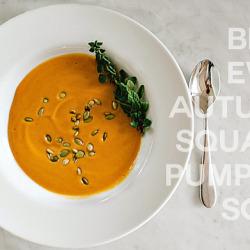 autumn squash pumpkin soup