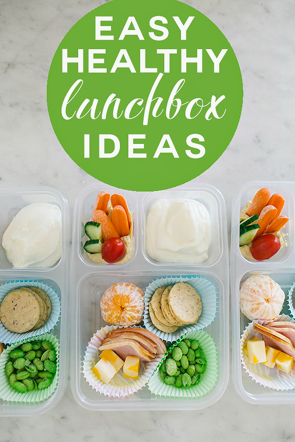 Easy Healthy Lunchbox Ideas