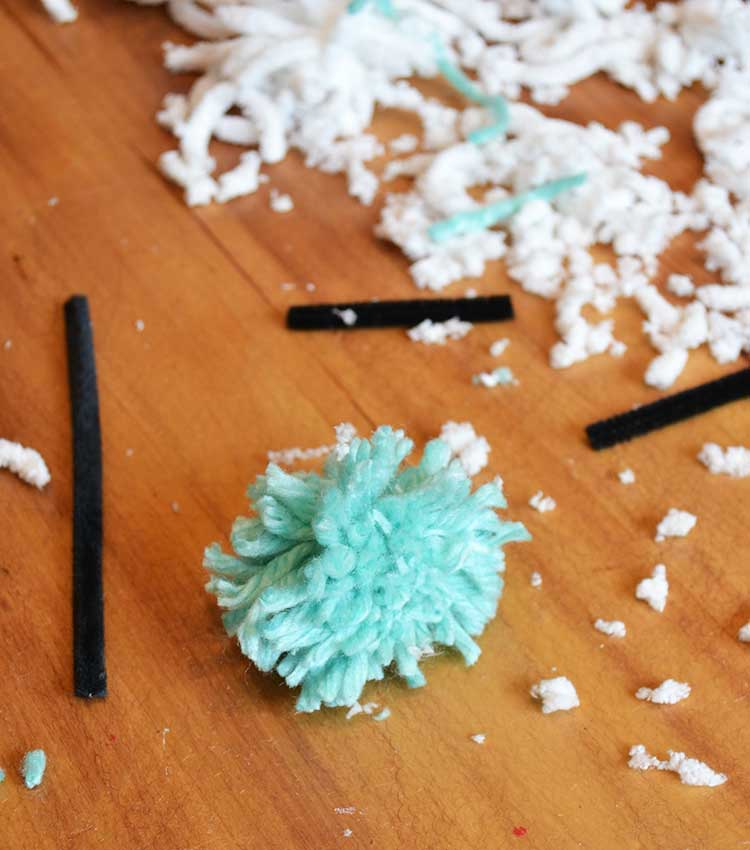 Pom-Pom Monsters: An Easy, Fun Kids' Craft | Twin Cities Moms Blog