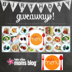 Birthday Giveaway from Steph's Menu!