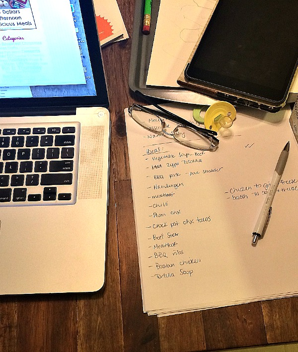 Meal Planning for the First-Timer | Twin Cities Moms Blog