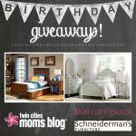 Birthday Giveaway from Schneiderman's Furniture