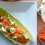 Super Bowl Eats: Buffalo Chicken Lettuce Boats and Then Some