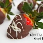 Edible Love:  Chocolate Covered Strawberries