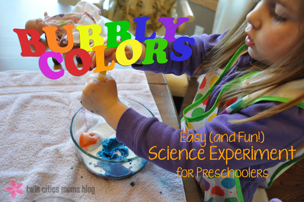Easy (and Fun!) Science Experiment for Preschoolers | Twin Cities Moms Blog