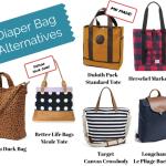6 Cool Diaper Bag Alternatives