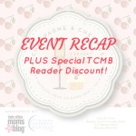 EVENT RECAP: Champagne & Cherries (Plus a TCMB Reader Discount!)