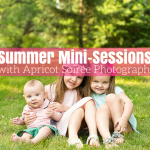 Summer Mini-Sessions with Apricot Soirée Photography!