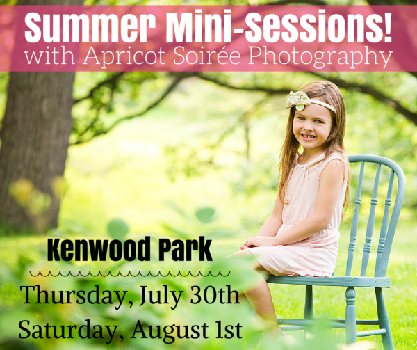 Summer Mini-Sessions exclusively for Twin Cities Moms Blog readers!   Twin Cities Moms Blog