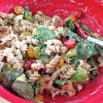 A Taste of Summer: Warm Grilled Chicken Pasta Salad