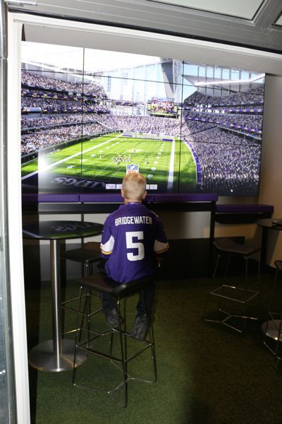 In His Wildest Dreams: A 9-year-old Boy Tours USBank Stadium | Twin Cities Moms Blog