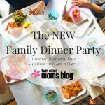 The NEW Family Dinner Party {and how to make it easy!}
