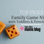 Family Game Night with Toddlers & Preschoolers