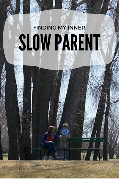 Finding My Inner Slow Parent | Twin Cities Moms Blog