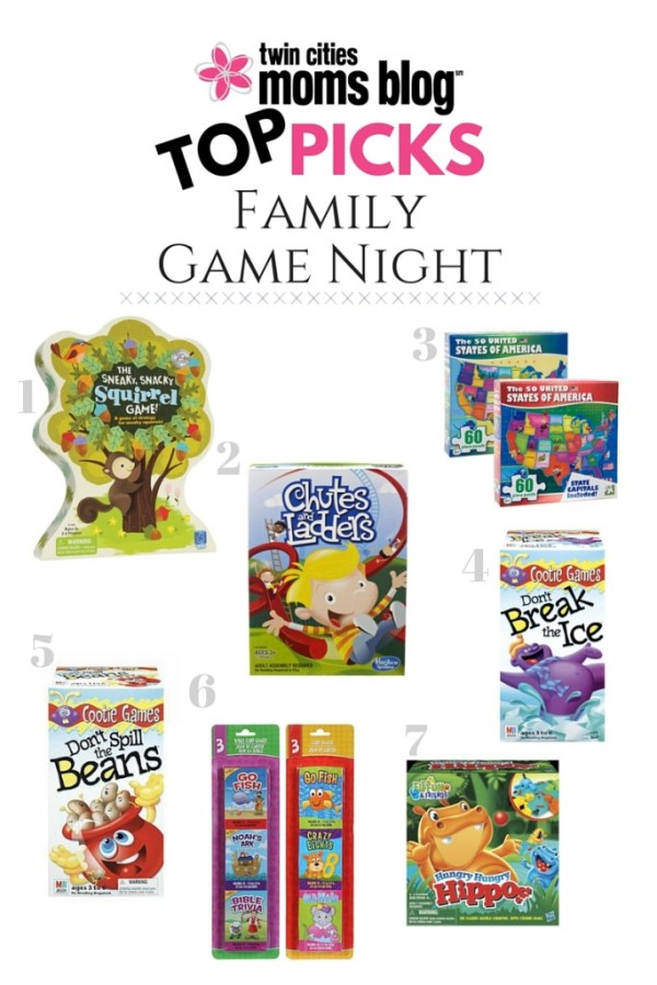 Family Game Night with Toddlers & Preschoolers | Twin Cities Moms Blog