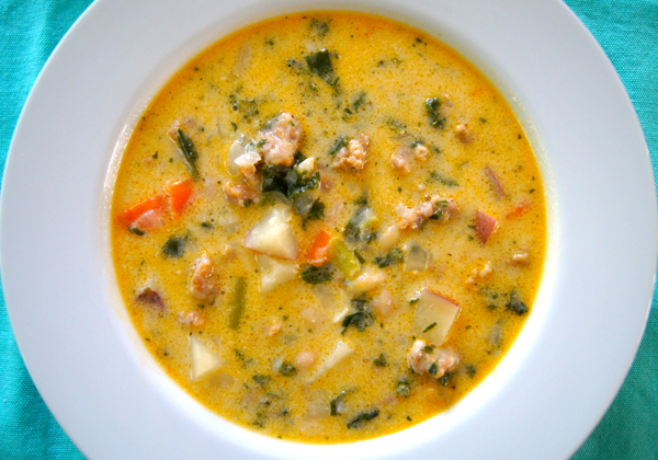 Quick Sausage, Bean and Veggie Soup | Twin Cities Moms Blog