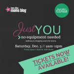 {TICKET ANNOUNCEMENT} Just YOU- No Equipment Needed
