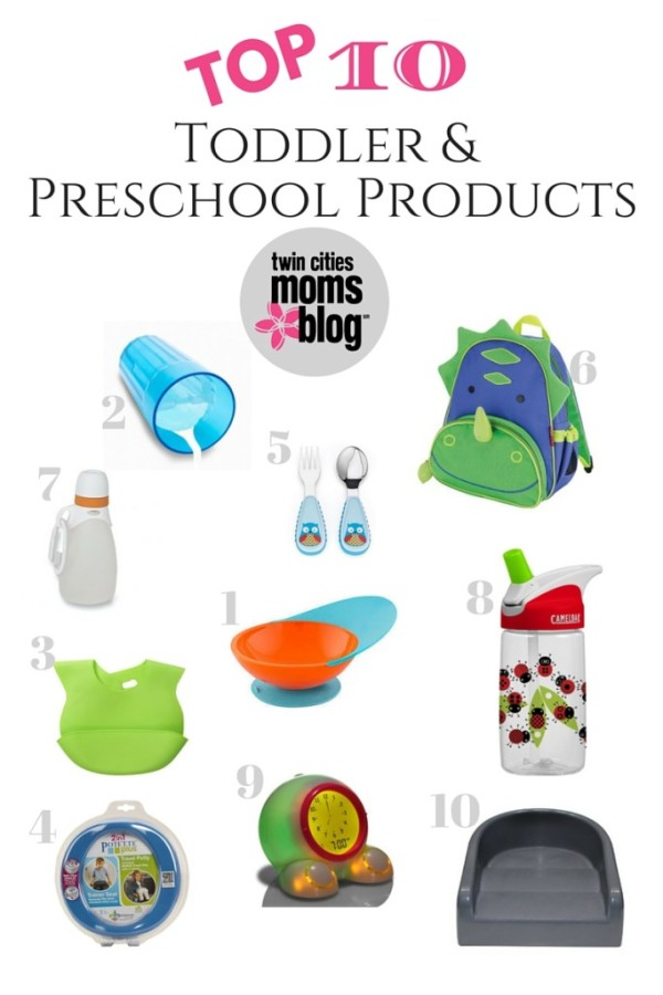 Top 10 Toddler and Preschooler Products | Twin Cities Moms Blog
