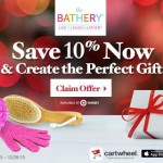 Give Your Gifts a Personal Touch with The Bathery from Target!