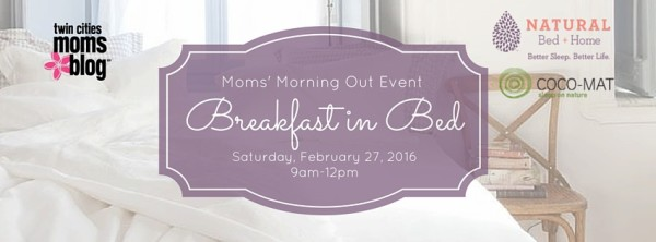 {EVENT ANNOUNCEMENT} Breakfast in Bed // Moms' Morning Out Event! | Twin Cities Moms Blog