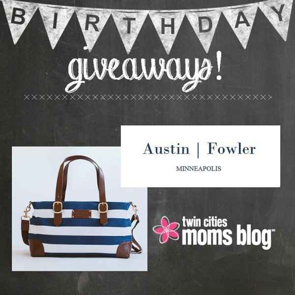 Birthday Giveaway from Austin + Fowler | Twin Cities Moms Blog