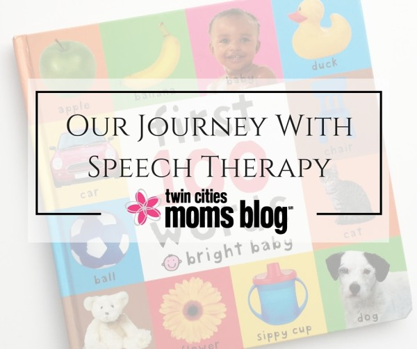 Our Journey With Speech Therapy | Twin Cities Moms Blog