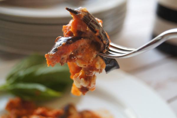 Italian Eggplant Bake with Tomato Cream Sauce | Twin Cities Moms Blog
