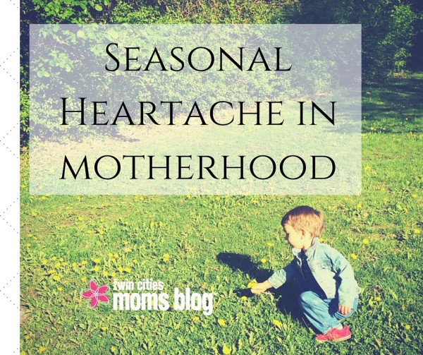 Seasonal Heartache in Motherhood | Twin Cities Moms Blog