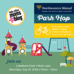 {EVENT ANNOUNCEMENT} Park Hop at Lakefront Park in Prior Lake