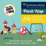 {EVENT ANNOUNCEMENT} LAST PARK HOP OF THE SUMMER at Oak Hill Park!