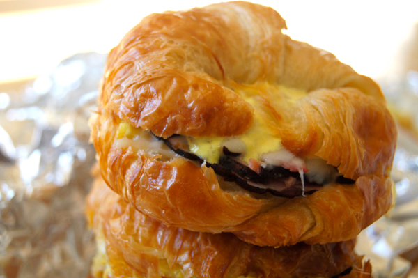 Make Ahead Meal for Busy Nights: Maple Mustard Baked Ham and Cheese Croissants | Twin Cities Moms Blog