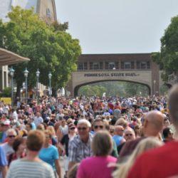 Minnesota State Fair Mom Alice Seuffert Crowd
