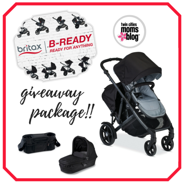 The Britax 2017 B-Ready Stroller: A Complete Review + STROLLER GIVEAWAY | Twin Cities Moms Blog
