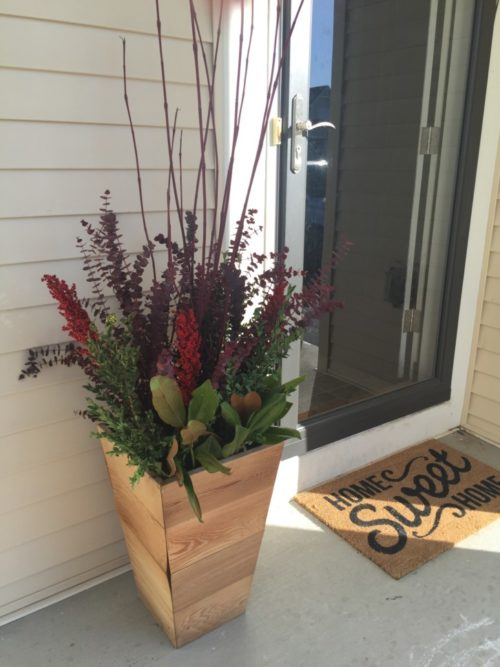 DIY Your Front Steps with Help From Bachman's Potting Bench | Twin Cities Moms Blog