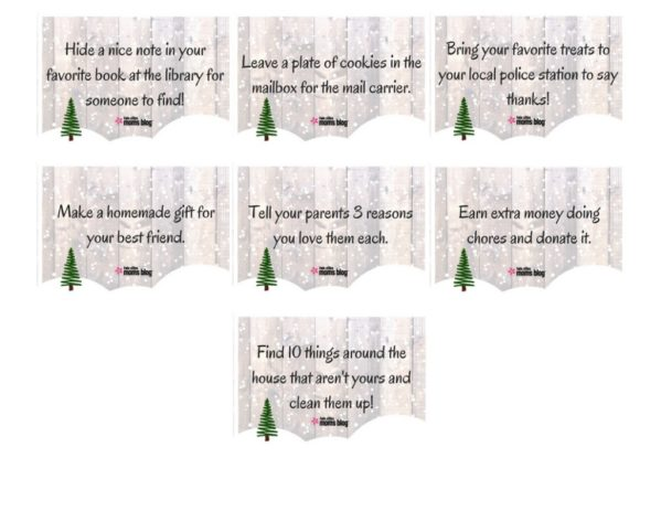 image regarding Kindness Cards Printable called Kindness Playing cards with No cost Printable!