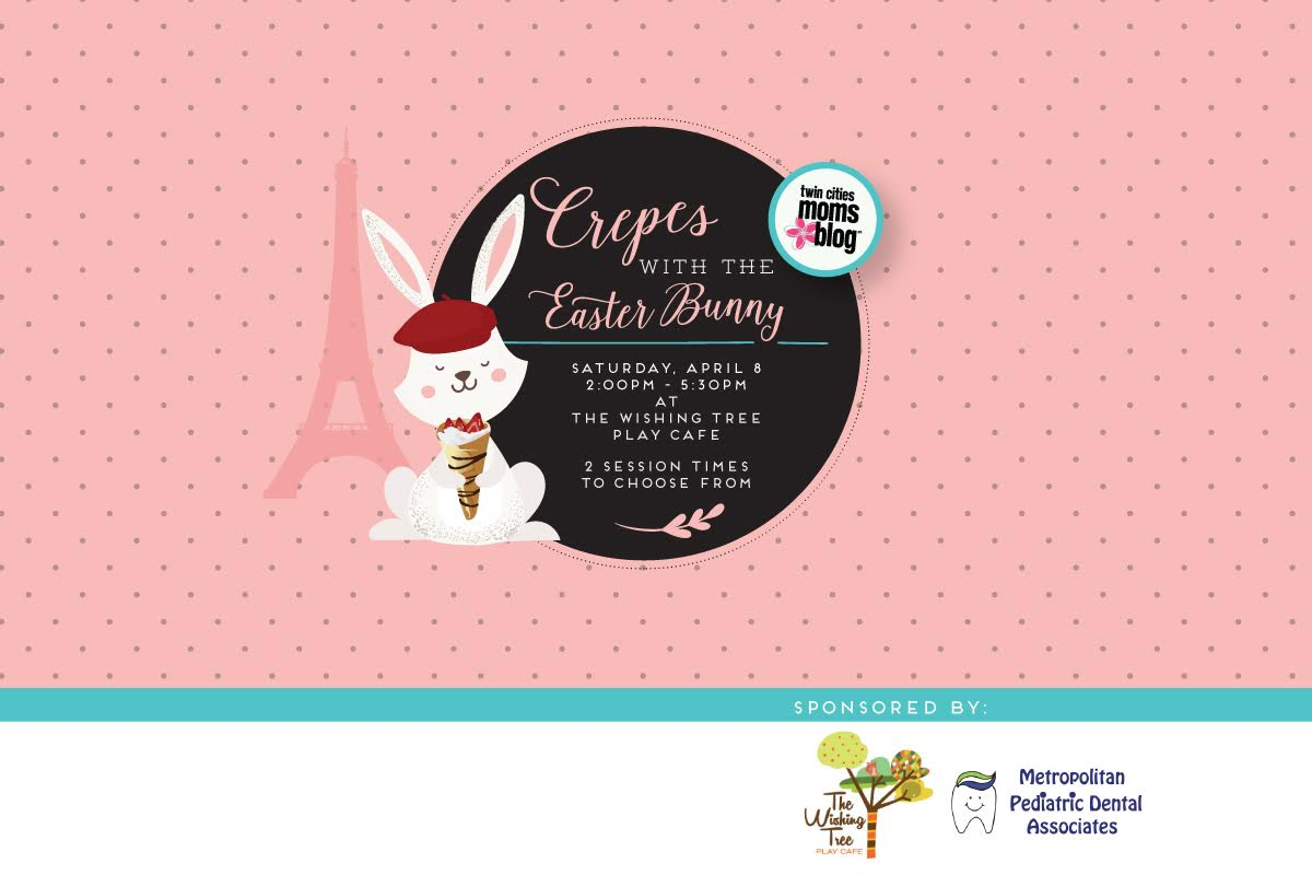 Crepes with the Easter Bunny Event Details | Twin Cities Moms Blog