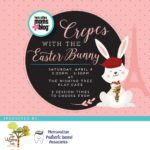 Crepes with the Easter Bunny Event Details {SOLD OUT}